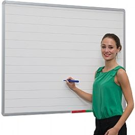 Non-Magnetic Lines Writing Boards