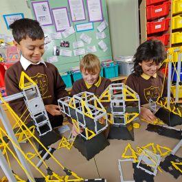 Polydron Bridges Class Set..