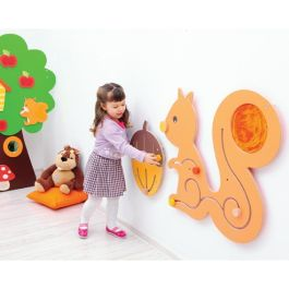 Squirrel and Nut Sensory Play Panels