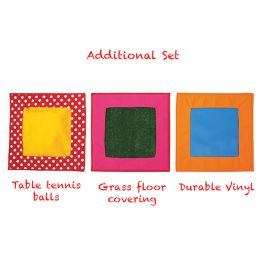 Children's Sensory Textured Stepping Stone Squares - Pack of 3