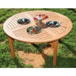 Outdoor Wooden Mud Mixing Table