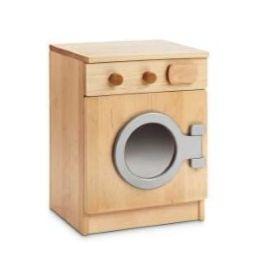 Children's Indoor Wooden Pretend Play Washing Machine