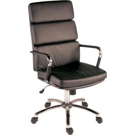 Deco Executive Faux Leather Chair