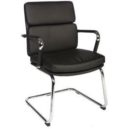 Deco Faux Leather Visitor Chair