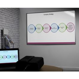 Dual Use Magnetic Projection Whiteboard