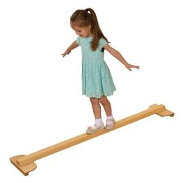 Children's Active Play Plywood Gym Balance Beam