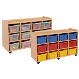 Wooden Deep Tray Units - 2x12 SPECIAL OFFER