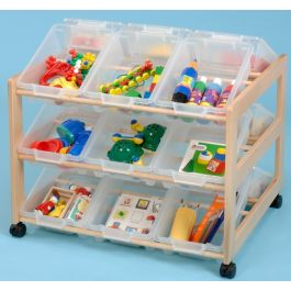 Double Sided 18 Tray Classroom Organiser
