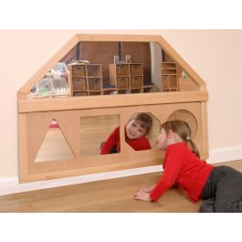 Indoor Shapes Wall Mirror