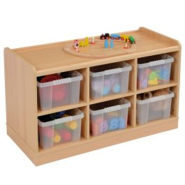 SSS Tray Storage Unit with 6 Deep Trays