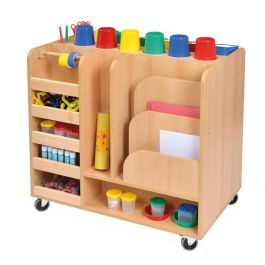 Mobile Art Resource Trolley