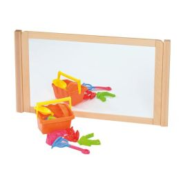 RS Children's Room Divider with Dry Wipe Board and Mirror