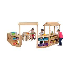 RS Room Divider Storage Set - Scene 1