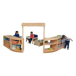 RS Nursery Playscape Room Divider Storage Set - Scene 3