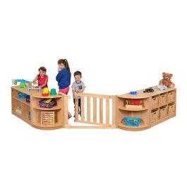 RS Nursery Playscape Room Divider Storage Set - Scene 4
