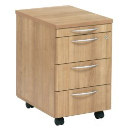 E Space 3 Drawer Mobile Office Pedestal