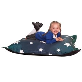 Star Print Kids Giant Sensory Floor Cushion