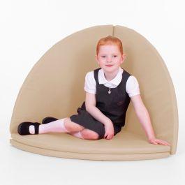Folding Children's Floor Mat - Indoor and Outdoor - Beige