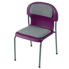 Chair 2000 Classroom Chair with Seat and Back Pad
