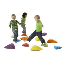 Children's Balancing River Shaped Stepping Stones