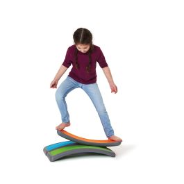 Children's Active Play Curved Balance Arches - Pack of 3