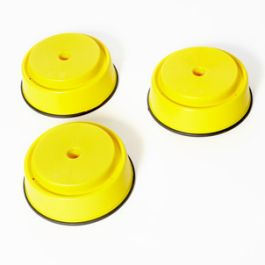 Build and Balance Small Yellow Tops - Pack of 3
