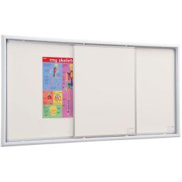 Non-Magnetic Sliding Whiteboard System
