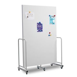 Magnetic Dry Wipe Mobile Presentation Board