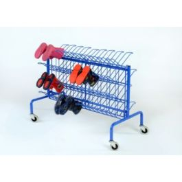 Compact Mobile Wellie Trolley