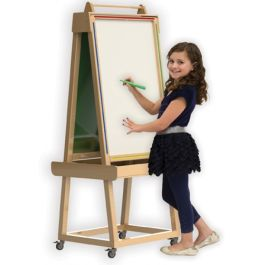 Little Acorns Solid Wood Play 'N' Learn Activity Easel