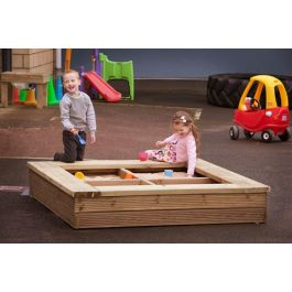 Wooden Outdoor Sand Pit or Planter