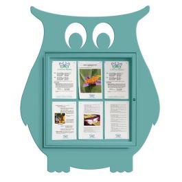 Owl Indoor/Outdoor Noticeboard