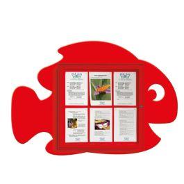 Fish indoor/outdoor noticeboard