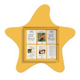Star fish indoor/outdoor noticeboard