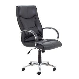 Whist Leather High Back Managers Chair