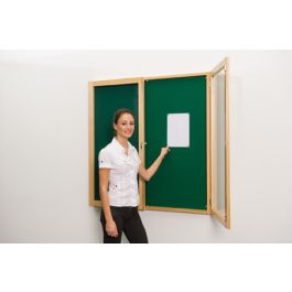 Solid Wood Tamperproof Noticeboards