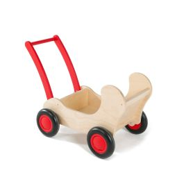 Early Years Wooden Pram Push Cart
