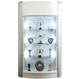 Floor Standing Trophy Showcase Cabinet