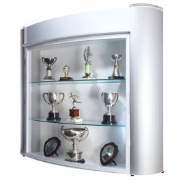 Wall Mounted Trophy Showcase Cabinet