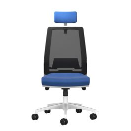Rome Mesh High Back Chair With Headrest