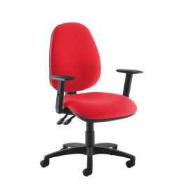 Jota High Back Operators Chair With Adjustable Arms