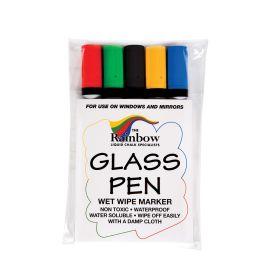 Wetwipe Glass and Blackboard Narrow Tip Pens - Pack of 5