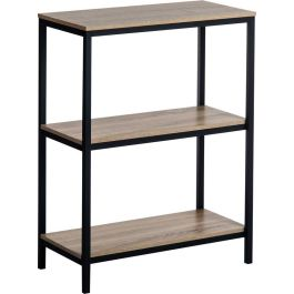 Industrial Style 2 Shelf Home Office Bookcase