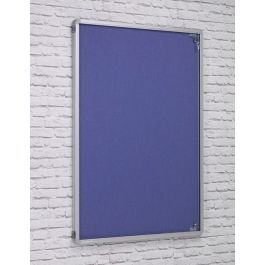 ColourTex Tamperproof Noticeboards Side Hinge