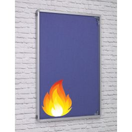 ColourTex FlameShield Tamperproof Noticeboards