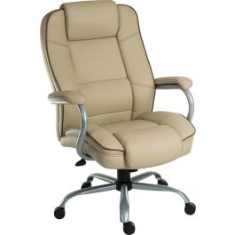 Goliath Duo Heavy Duty Bonded Leather Faced Executive Chair