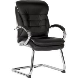Goliath Light Visitor Bonded Leather Faced Chair