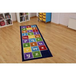 Alphabet Runner Classroom Carpet