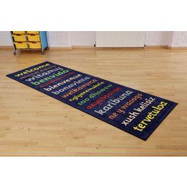 Welcome Runner Classroom Carpet