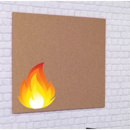 ColourTex FlameShield Unframed Noticeboards